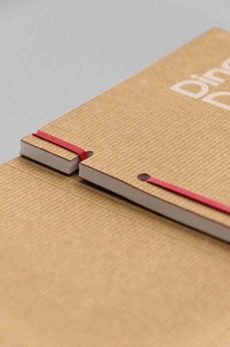 Rubber band binding #binding