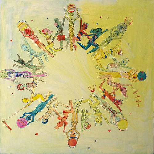 kelly tunstall, art, fine art, circle