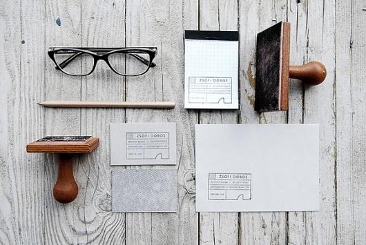 Zsófi Dobos logo & identity #branding #stationary #design #brand #logo #editorial