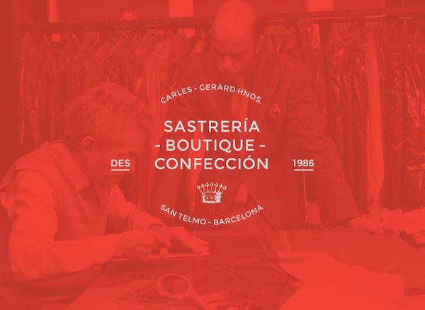 Carles Gerard Hnos. Tailoring on Behance #branding