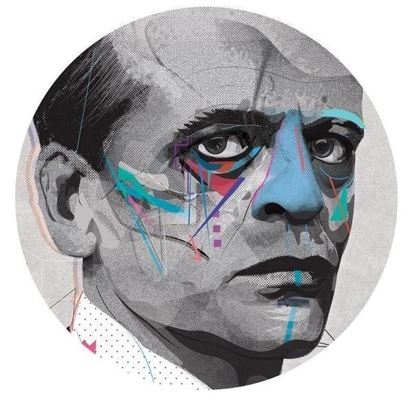 Portrait by Zaneta Antosik #zaneta #portrair #illustration #creativitea #antosik