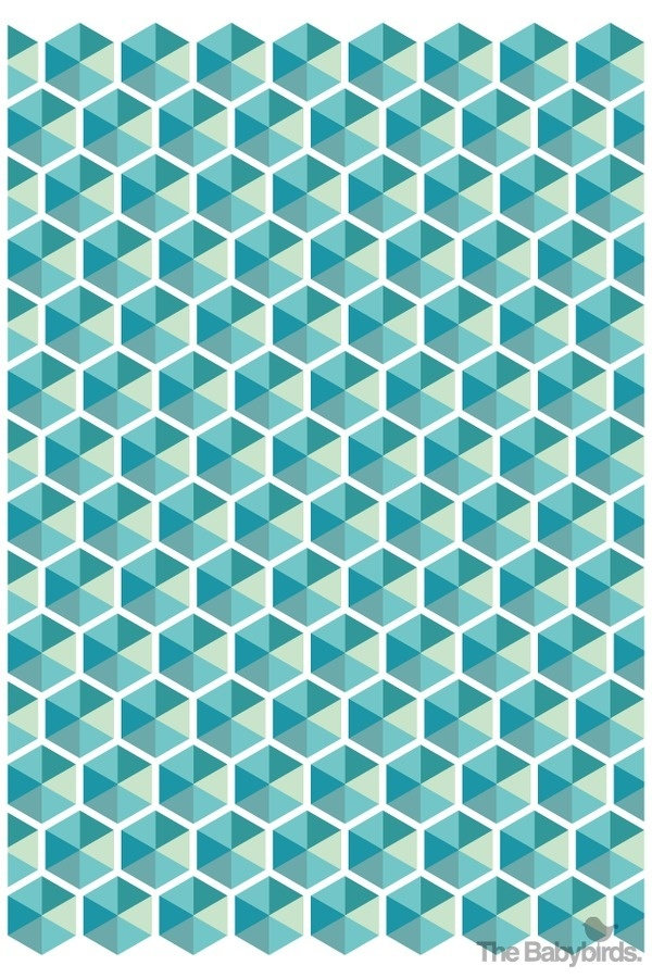 geowall02 #patterns #retro #vintage