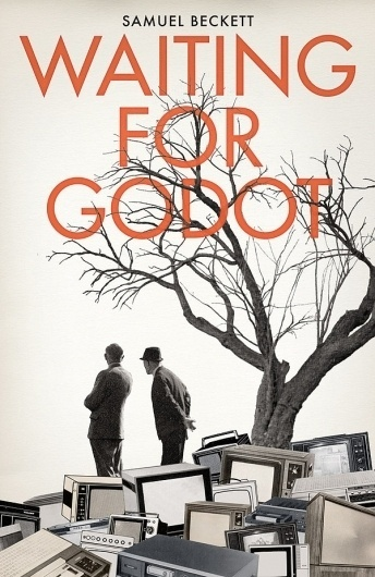 Waiting for Godot on the Behance Network #beckett #design #graphic #book #cover