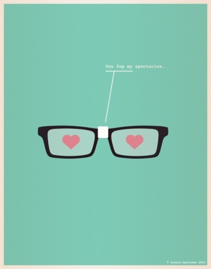 Illustrations for Nerds in Love by Nicole Martinez | 123 Inspiration #martinez #posters #nicole