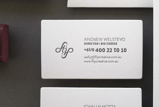 Flip | Lovely Stationery #card #business #stationery