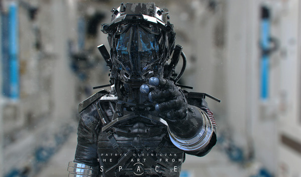 Space Suit #future #soldier #cg #patryk