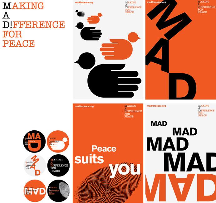MAD for peace   Bibliothèque Design