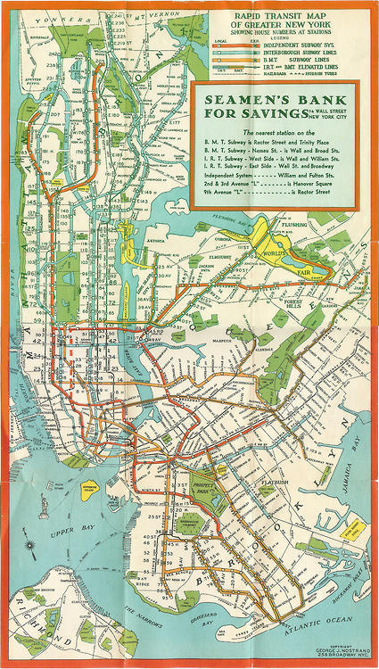 this isn't happiness™ photo caption contains external link #york #illustration #map #new