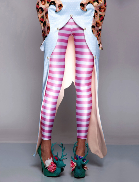 Ana Ljubinković's Special Edition Collection #shoes #lookbook #photography #leggins #fashion