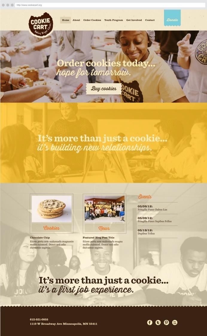 1CookieCart_Home.png #site #digital #web