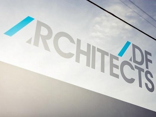 Graphical House - ADF Architects #signage #logo