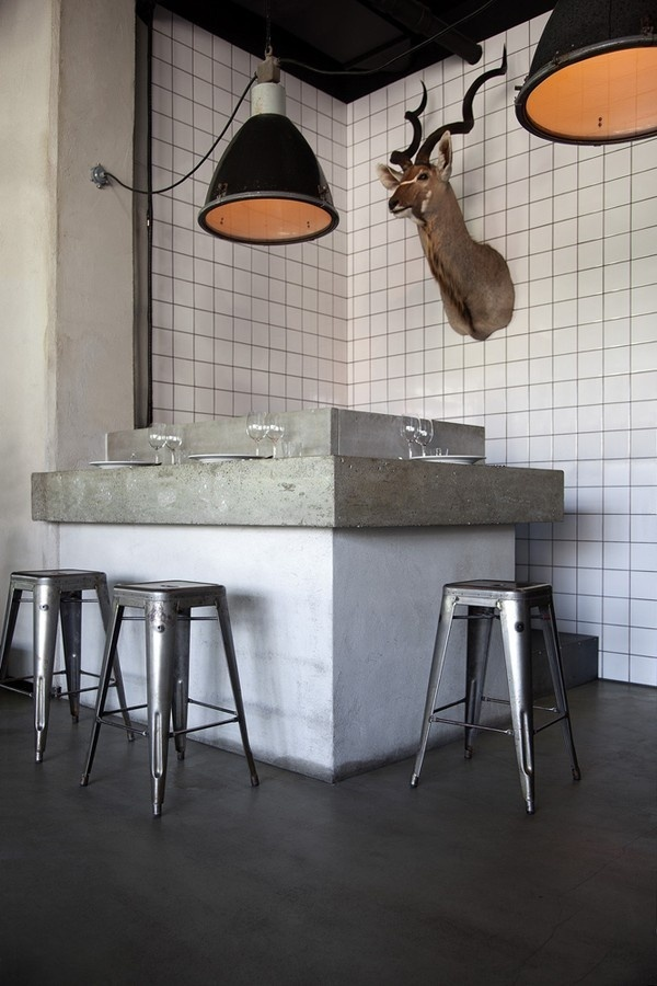 Nazdrowje, an industrial style Polish restaurant in Stockholm emmas designblogg #interior #design #decor #deco #decoration
