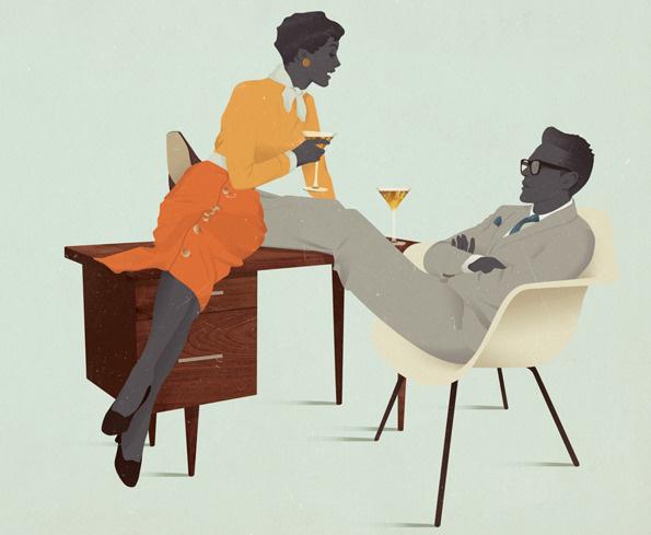 this isn't happiness™ Peteski #illustration #retro
