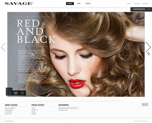 Savage on Web Design Served