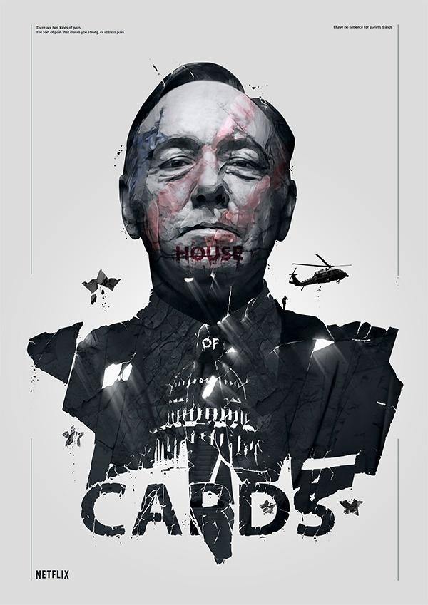 Spizak illustration, house of cards #illustration #posters