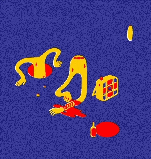 Nicolas fait des dessins, parfois | Woop woop, chop #playful #mnard #illustration #nicolas