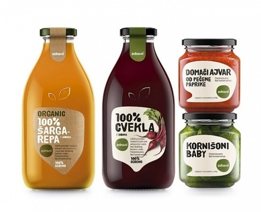 Naturall & Zdravo | Lovely Package #packaging #type #food