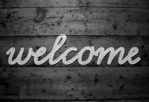 Lizzie Ridout #script #white #lizzie #black #and #ridout #welcome #typography