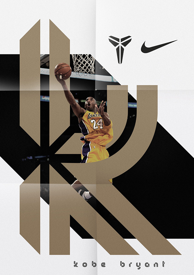 Sawdust: Brand typeface for Kobe Bryant