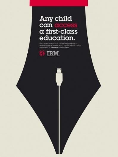 IBM's Smarter Planet Illustrations are Clever! (11 total) - My Modern Metropolis #illustration #ads #ibm #poster