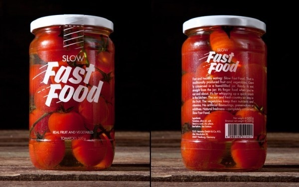 korefe slow fast food 2 #packaging #type #pickled #design