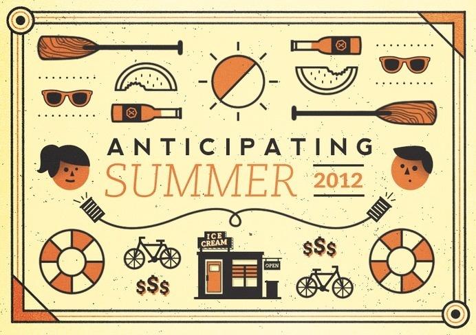 Anticipating_summer #illustration #summer