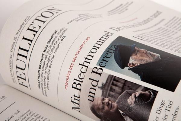 Ressort Fuillieton #photo #design #germany #newspaper #editorial #berlin