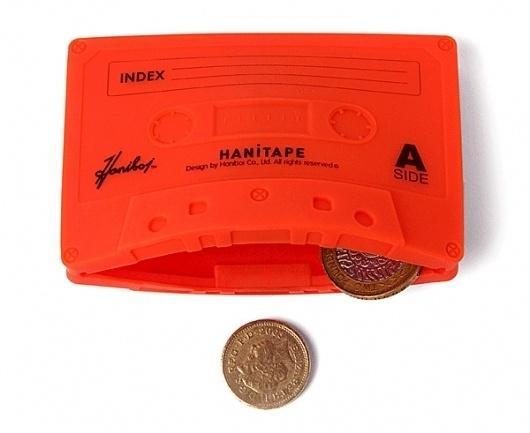 Tape Cassette Coin Pouches   Colossal #cassette #money #coins