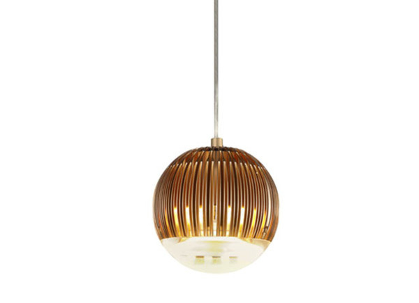 Fin Light Round Copper #interior #creative #inspiration #amazing #modern #design #decor #home #ideas #furniture #architecture #art #decorating #innovative #decoration #cool