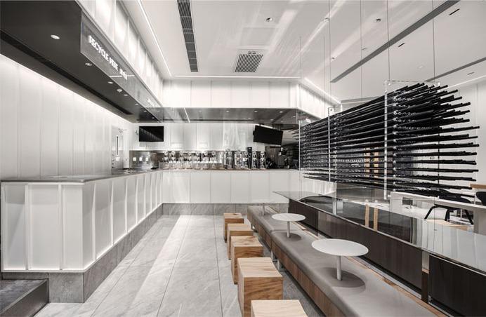 Modern Tea Drinking Space by Moc Design - InteriorZine