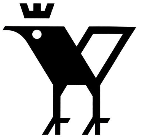 tumblr_ll3g9tDdyA1qjfd19o1_500.jpg 500×492 pixels #mark #emblem #geometric #bird #logo