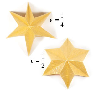 How to make a six-pointed easy embossed origami star (http://www.origami-make.org/howto-origami-star.php)