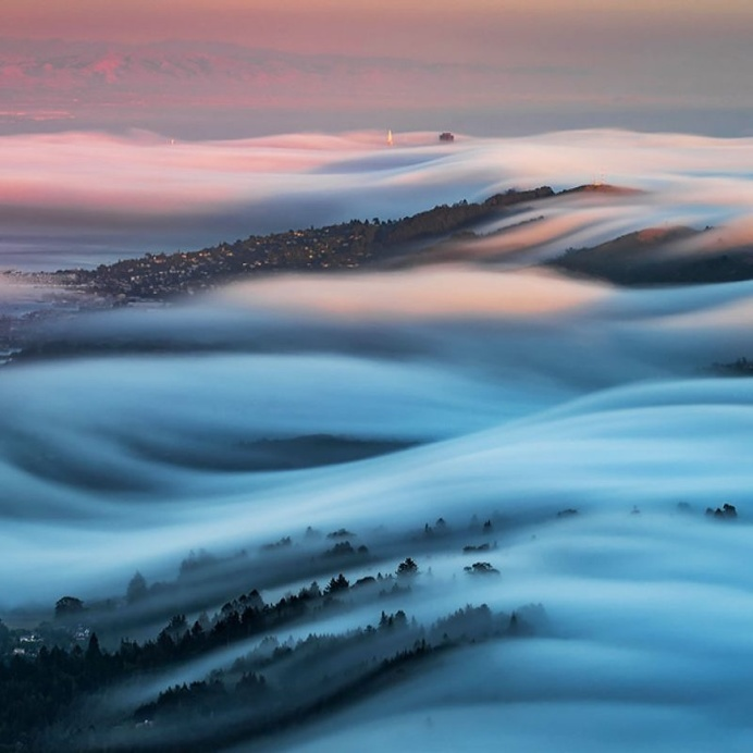 Nick Steinberg Captures Breathtaking Landscapes of Foggy San Francisco's Climate