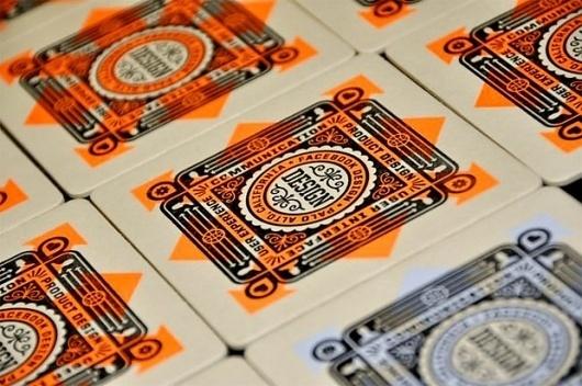 Facebook Coasters | Design.org #screen #print #design #color