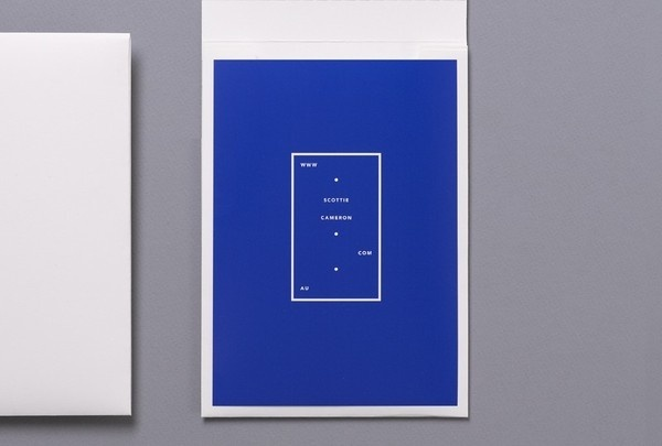Scottie Cameron | COÖP #cover #blue #print #identity