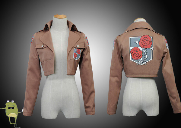 Attack on Titan Hannes Stationary Guard Garrison Cosplay Costume #hannes #costume #garrison #cosplay