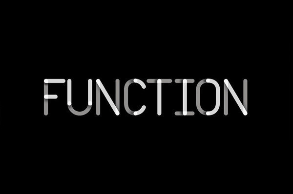 Function logo designed by Sagmeister and Walsh 1 #logo
