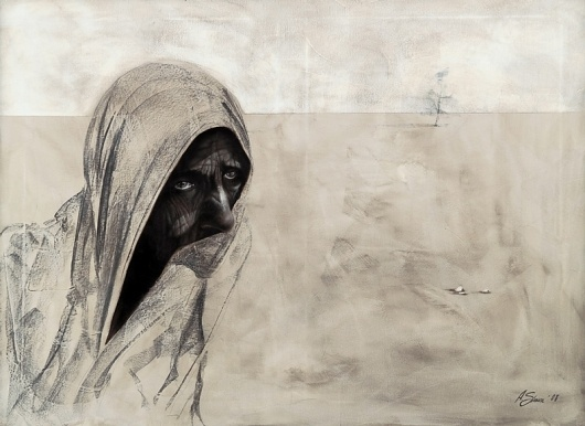 SA #arts #on #portrait #painting #canvas #fine #oil
