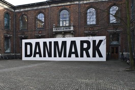 Project Images #blackwhite #bigfuckingtype #exhibition #environmental #signage #type