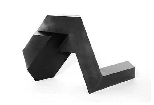 Sculpture by Tony Smith #sculpture #tony smith