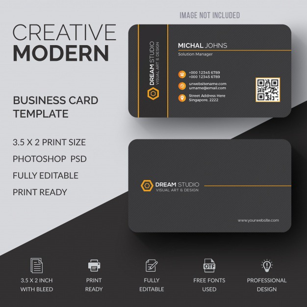 Black business card mockup Premium Psd. See more inspiration related to Business card, Mockup, Business, Abstract, Card, Template, Office, Visiting card, Black, Presentation, Stationery, Elegant, Corporate, Mock up, Creative, Company, Modern, Corporate identity, Branding, Visit card, Identity, Brand, Identity card, Professional, Presentation template, Up, Brand identity, Visit, Showcase, Showroom, Mock and Visiting on Freepik.