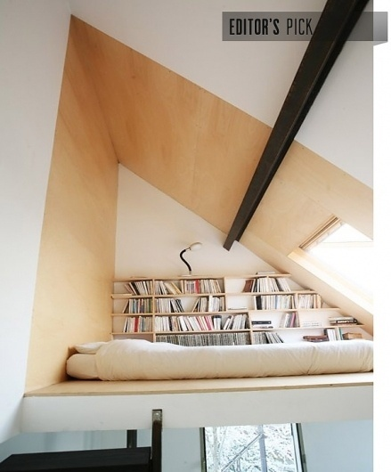 Architizer Blog » Blog Archive » Editor's Pick: Mini-Maison #brussels #architecture