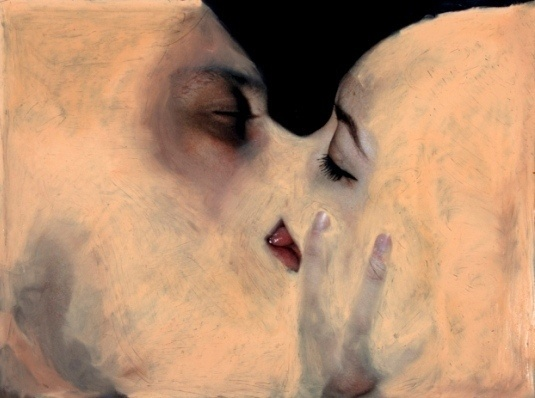 Aristotle's philosophy on two human beings in love reminds me of Rik Garrett's current series 'Symbiosis'. The fate of two physic #human #unity #symbiosis #being