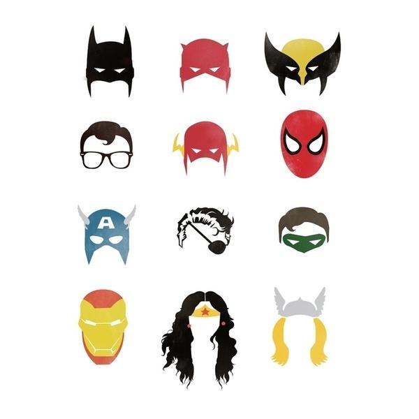 Superheroes. #superheroes
