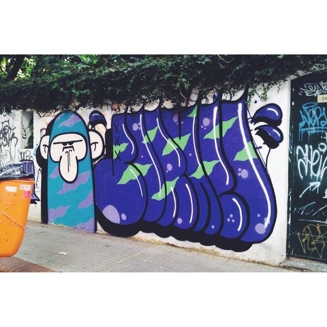 borneo and mojo #streetart #graffiti #borneo #street #mojo