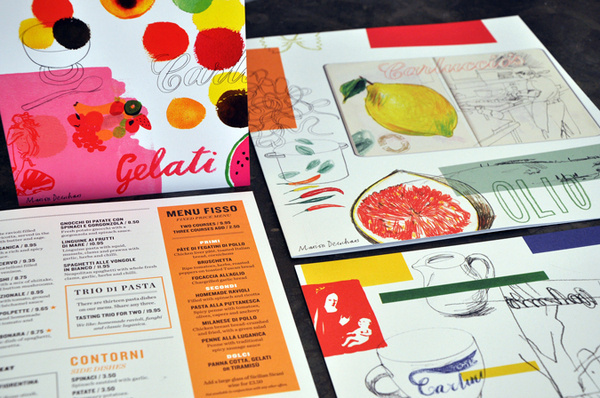 Carluccio's Summer Menu 2011 | Irving