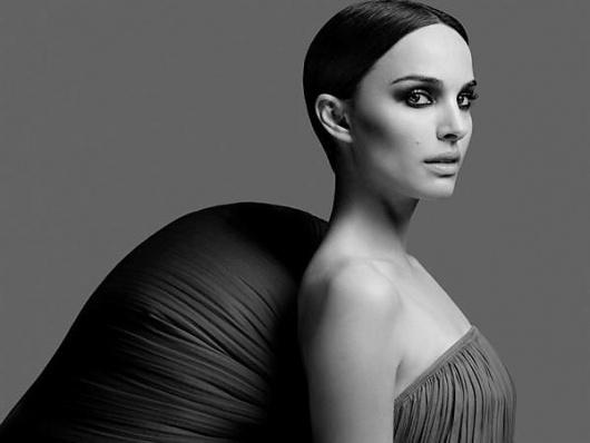 Natalie Portman by Heidi Slimane | AnOther | Loves #portman #white #slimane #black #natalie #heidi #and