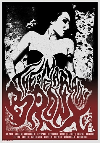 FFFFOUND! | GigPosters.com - Bronx, The - Mariachi El Bronx #gigposter #silkscreen #typography