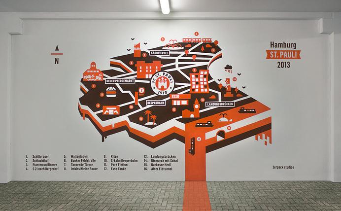 2erpack studios #mapping #map #stadium #soccer #minimal #pauli #football