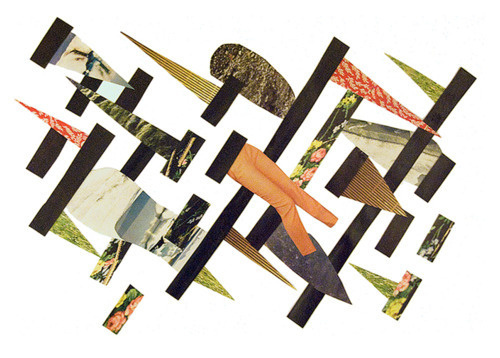 I recently contributed this piece to a rad little collaborative collage project called Muxel. #collage